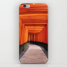 Thousand Torii Gates iPhone & iPod Skin