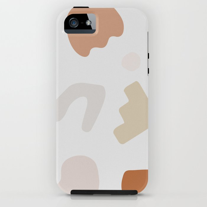 Abstract Shape Series - Autumn Color Study iPhone Case