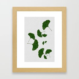 Ginkgo Leaf I Framed Art Print