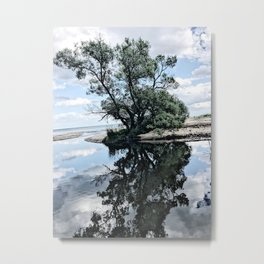 Nordic nature - Family tree Metal Print