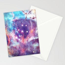 Shine Art Of Galaxy Stationery Cards