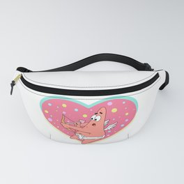 Cupid Patrick Star (Valentines Edition) Fanny Pack