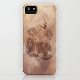 Portrait of a lady iPhone Case