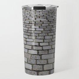 cobble stone pavement Travel Mug