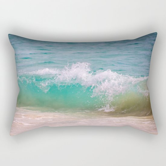 Caribbean Wave Rectangular Pillow