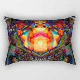 Spidy Chic Rectangular Pillow