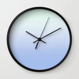 #fdeadf+#dbf3e9 Wall Clock