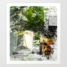 Electric Jungle Art Print