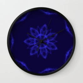 Blue eyes crying in the rain Wall Clock