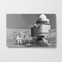 Draining The Earth Metal Print