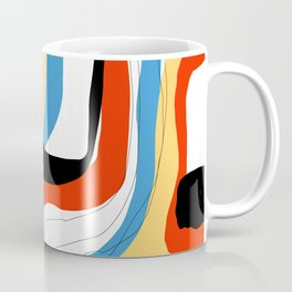 Abstract color shape Coffee Mug