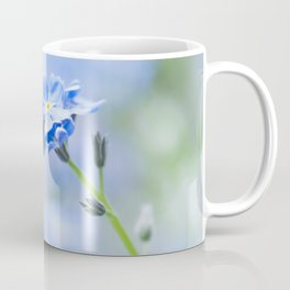 Forget-me-not in LOVE - Springflower Flowers Floral Coffee Mug