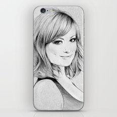 Olivia Wilde portrait iPhone & iPod Skin