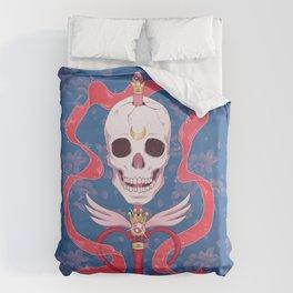 Moon Skull Duvet Cover
