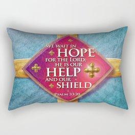 Our Shield Rectangular Pillow