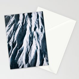 Arctic Glacial Pattern from above - Landscape Photography Stationery Cards