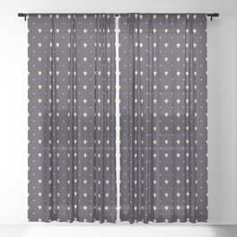 Queen and King XL Sheer Curtain