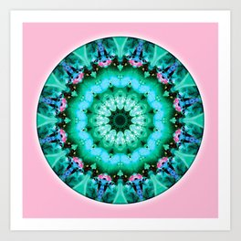 Mandalas from the Heart of Transformation 5 Art Print
