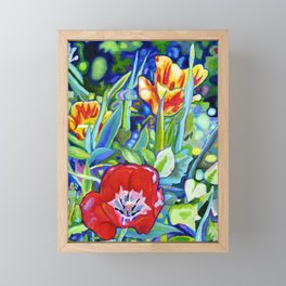 Poppy and Rose Dream Framed Mini Art Print