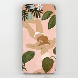 Life Is Better Without Bra iPhone Skin