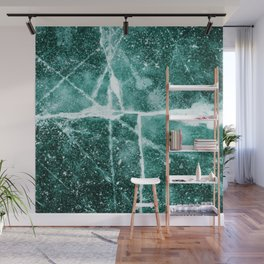 Emerald Ice Wall Mural