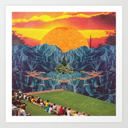 Parque del Sol  Art Print