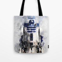 droid in space Tote Bag