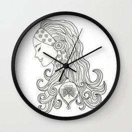 Celtic Woman Wall Clock