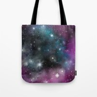 infinity Tote Bags featuring Infinity by ShaylahLeigh