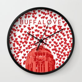 BUFFALOVE Wall Clock