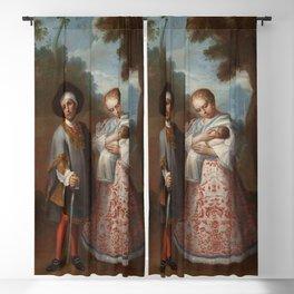 Juan Patricio Morlete Ruiz - IX. From Spaniard and Albino, Return Backwards (IX. De español y albina Blackout Curtain