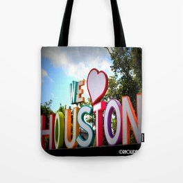 We Heart Houston Tote Bag