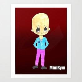 MiniRym Art Print