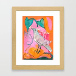 Song of the Dove Framed Art Print