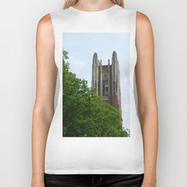 Trees and Tower Biker Tank