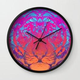Neon Signs (Tiger) Wall Clock