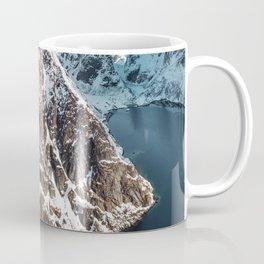 aerial view of the lofoten Coffee Mug