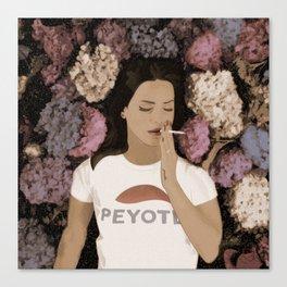 Peyote Field Canvas Print