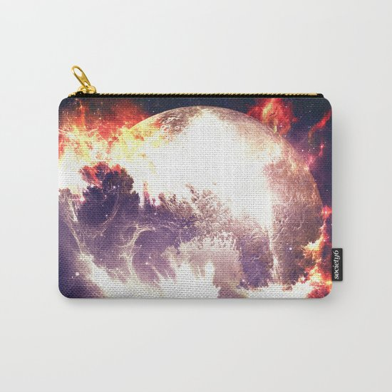 Burning Planet Carry-All Pouch