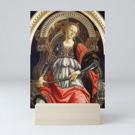 Allegory of Fortitude by Sandro Botticelli Mini Art Print