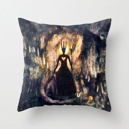 Dyrne - The Unseen Throw Pillow