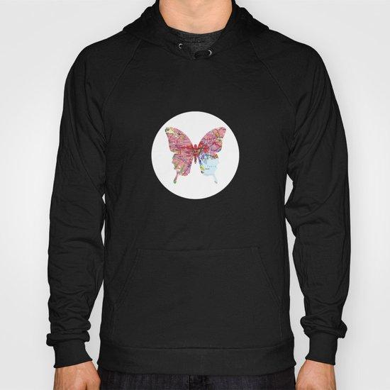 papillon - tokio - white Hoody