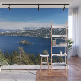Inspiration Point at Emerald Bay Wall Mural
