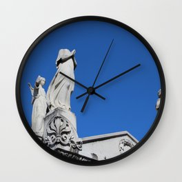 The Headless Guardian Wall Clock
