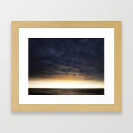 Calm After the Storm Framed Art Print