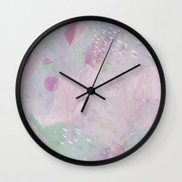 Drop Top - Pink Wall Clock