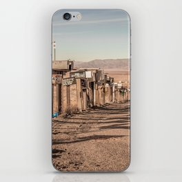 Letter boxes iPhone Skin
