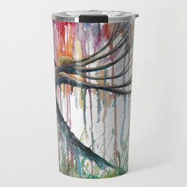 Raining Rainbows Travel Mug