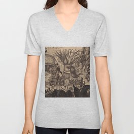 Confessing to the old tree Unisex V-Neck