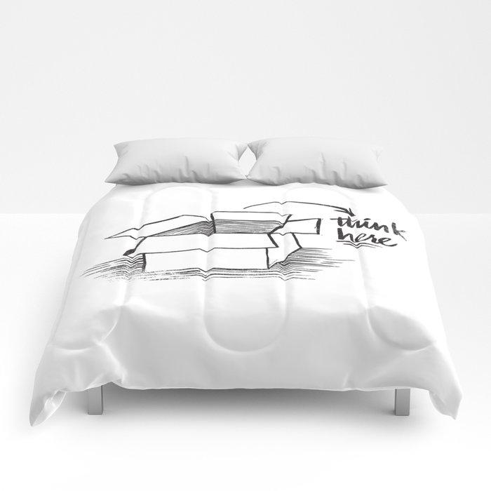 think here Comforters